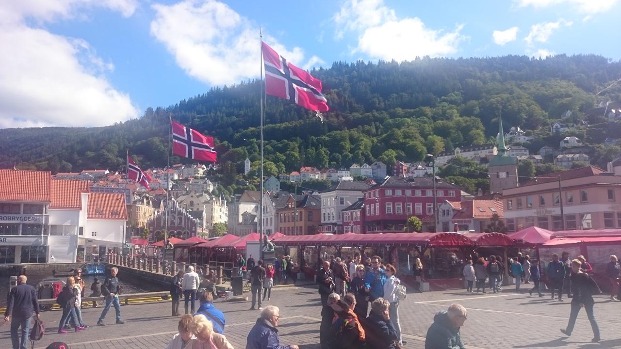 Von Lone (Bergen) nach Kjornes-Camping (Sogndal)